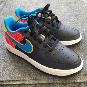 Nike Air Force 1 Low Blue Size 5.5Y = 7 Women